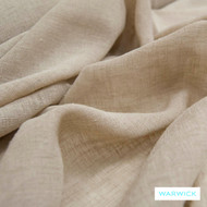 Mushroom' | Curtain Sheer Fabric - Gold - Yellow, Plain, Synthetic fibre, Washable, Domestic Use