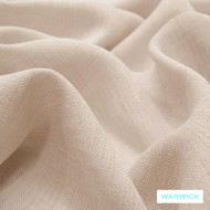 Warwick Chios Quartz  | Curtain Sheer Fabric - Beige, Plain, Synthetic, Washable, Domestic Use, Natural