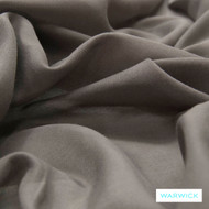 Flint' | Curtain Sheer Fabric - Brown, Plain, Industrial, Synthetic fibre, Transitional, Washable, Tan - Taupe, Domestic Use, Natural
