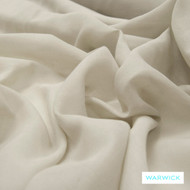 Warwick Chios Kasos Pebble  | Curtain Sheer Fabric - Plain, White, Synthetic, Tan, Taupe, Transitional, Washable, Domestic Use, White