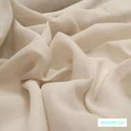 Quartz' | Curtain Sheer Fabric - Beige, Plain, Synthetic fibre, Transitional, Washable, Tan - Taupe, Domestic Use, Natural