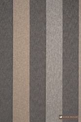 James Dunlop Garda - Schist  | Curtain Sheer Fabric - Silver, Fiber blend, Stripe, Tan, Taupe, Traditional, Washable, Domestic Use, Dry Clean