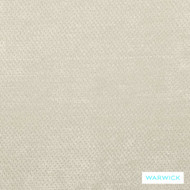 Warwick Dolce Ivory  | Curtain & Upholstery fabric - Beige, Plain, White, Synthetic, Washable, Commercial Use, Halo, Natural, White