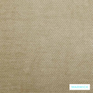 Warwick Dolce Jasper  | Curtain & Upholstery fabric - Beige, Plain, Synthetic, Tan, Taupe, Washable, Commercial Use, Halo
