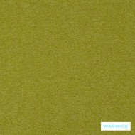 Warwick Dolly Citron  | Upholstery Fabric - Green, Plain, Eclectic, Synthetic, Washable, Commercial Use, Halo