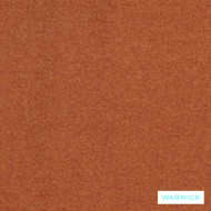 Warwick Dolly Flame  | Upholstery Fabric - Plain, Eclectic, Synthetic, Washable, Commercial Use, Halo, Standard Width