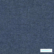 Warwick Dolly Peacock  | Upholstery Fabric - Blue, Plain, Synthetic, Washable, Commercial Use, Halo, Standard Width