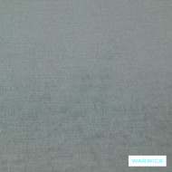 Warwick Glamour Airforce Grey  | Curtain & Upholstery fabric - Blue, Plain, Synthetic, Washable, Commercial Use, Halo, Standard Width
