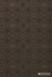 James Dunlop Jupiter - Chocolate  | Upholstery Fabric - Stain Repellent, Brown, Fire Retardant, Diaper, Fibre Blends, Geometric, Midcentury, Bacteria Resistant, Commercial Use