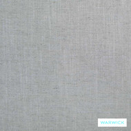 Warwick Husk Ice  | Curtain & Upholstery fabric - Grey, Plain, Fiber blend, Washable, Commercial Use, Domestic Use, Natural