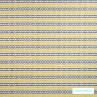 Warwick Jigsaw Twister Sunshine  | Upholstery Fabric - Australian Made, Gold,  Yellow, Contemporary, Diaper, Geometric, Midcentury, Stripe, Synthetic, Washable, Domestic Use, Halo