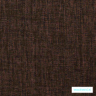 Warwick Keylargo Brown  | Upholstery Fabric - Brown, Plain, Midcentury, Synthetic, Washable, Commercial Use, Halo, Standard Width