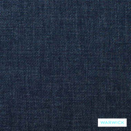 Denim' | Upholstery Fabric - Blue, Plain, Synthetic fibre, Washable, Commercial Use, Halo