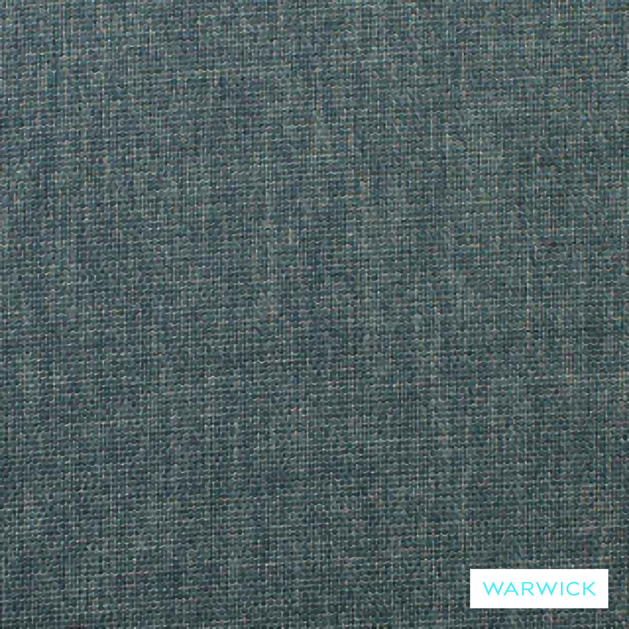 Warwick Keylargo Teal  | Upholstery Fabric - Blue, Plain, Synthetic, Turquoise, Teal, Washable, Commercial Use, Halo, Standard Width