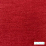 Lantern' | Upholstery Fabric - Plain, Red, Red, Synthetic fibre, Washable, Commercial Use, Halo