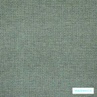 Warwick Lindeman Aqua  | Upholstery Fabric - Green, Plain, Washable, Commercial Use, Domestic Use, Halo