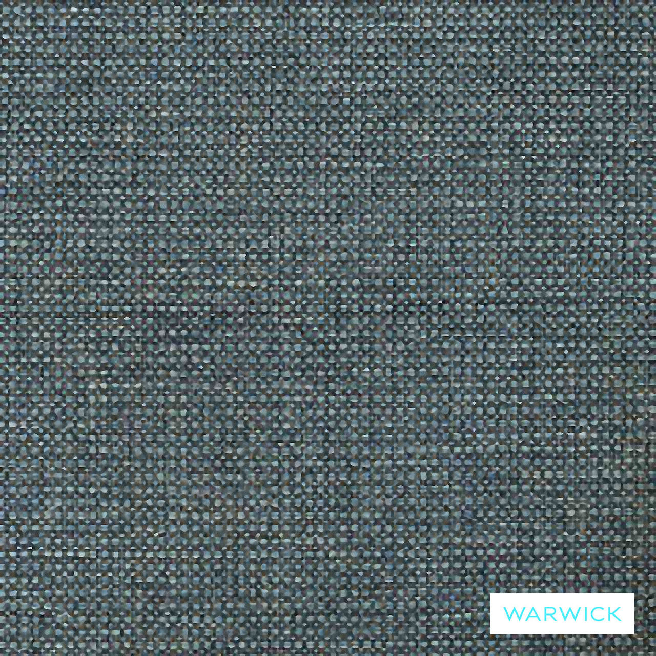 Warwick Lindeman Dusk  | Upholstery Fabric - Blue, Plain, Synthetic, Washable, Commercial Use, Domestic Use, Halo
