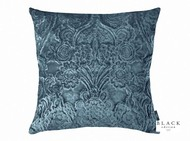 Black Edition  - Erbusco 50cm Cushion Orion  | - Blue, Damask, Deco, Decorative, Traditional, Velvet, Cushion-Covers, Decorative Weave, Domestic Use