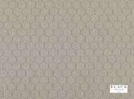 Black Edition  - Inza Rice Paper  | Curtain & Upholstery fabric - Grey, Deco, Decorative, Fiber blend, Geometric, Honeycomb, Transitional, Decorative Weave, Domestic Use