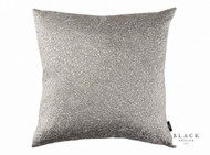 Black Edition  - Jarali 50cm Cushion Moonstone  | - Black, Grey, Damask, Deco, Decorative, Silk, Traditional, Cushion-Covers, Domestic Use, Decorative Weave