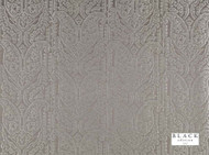 Black Edition  - Varanasi Umber  | Curtain Fabric - Grey, Deco, Decorative, Eclectic, Natural fibre, Paisley, Silk, Decorative Weave, Domestic Use, Natural