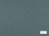 Black Edition - Inza Jasper  | Curtain & Upholstery fabric - Deco, Decorative, Fibre Blends, Geometric, Honeycomb, Transitional, Turquoise, Teal, Decorative Weave