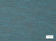 Black Edition  - Hector Moroccan Blue  | Curtain & Upholstery fabric - Linen and Linen Look, Synthetic, Turquoise, Teal, Domestic Use, Semi-Plain