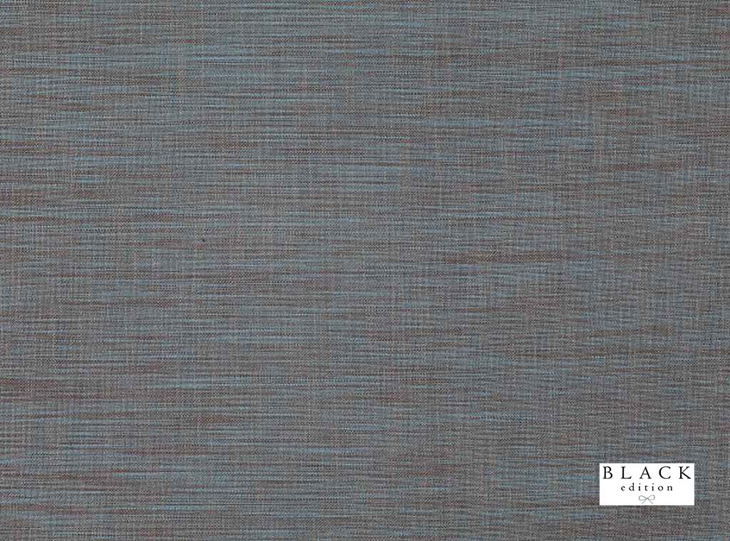 Black Edition  - Riley Moroccan Blue  | Curtain & Upholstery fabric - Linen and Linen Look, Synthetic, Turquoise, Teal, Domestic Use, Semi-Plain