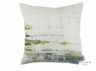 Black Edition - It's Complicated Cushion  | - Blue, White, Contemporary, Linen and Linen Look, Abstract, Cushion-Covers, Domestic Use, Print, White, Standard Width