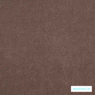 Warwick Macrosoft Hg Fudge  | Upholstery Fabric - Brown, Plain, HealthGuard, Synthetic, Washable, Commercial Use, Halo, Standard Width