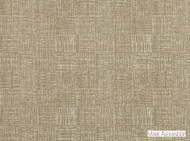 Mark Alexander - Woodblock Acorn  | Curtain & Upholstery fabric - Green, Geometric, Linen and Linen Look, Natural fibre, Small Scale, Tan - Taupe, Domestic Use, Natural, Print