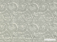 Mark Alexander - Amla Stonewash  | Curtain & Upholstery fabric - Grey, Linen and Linen Look, Natural Fibre, Traditional, Domestic Use, Natural, Print, Standard Width, Rococo