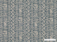 Mark Alexander - Khari Atlantic  | Curtain & Upholstery fabric - Contemporary, Geometric, Natural Fibre, Southwestern, Abstract, Domestic Use, Natural, Print, Standard Width