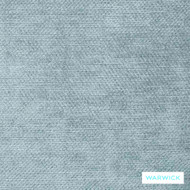 Warwick Marisol Dolce Lagoon    Curtain & Upholstery fabric - Blue, Plain, Synthetic fibre, Washable, Commercial Use, Halo