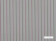 Rom_7721/01 '' | Curtain & Upholstery fabric - Black, Blue, Grey, Deco, Decorative, Natural fibre, Stripe, Traditional, Black - Charcoal, Pink - Purple, Domestic Use