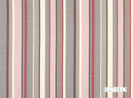 Romo - Sylvan Rose Quartz  | Curtain & Upholstery fabric - Grey, Red, Contemporary, Natural fibre, Pink, Purple, Stripe, Washable, Domestic Use, Natural, Print