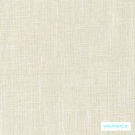 Warwick Matrix Bone  | Upholstery Fabric - Plain, White, Synthetic, Washable, Commercial Use, Halo, Natural, White