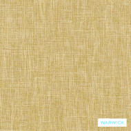 Warwick Matrix Buttercup  | Upholstery Fabric - Gold,  Yellow, Plain, Synthetic, Washable, Commercial Use, Halo