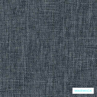 Warwick Matrix Denim  | Upholstery Fabric - Blue, Plain, Synthetic, Washable, Commercial Use, Halo