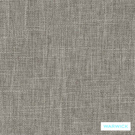 Warwick Matrix Pewter  | Upholstery Fabric - Green, Plain, Synthetic, Washable, Commercial Use, Halo