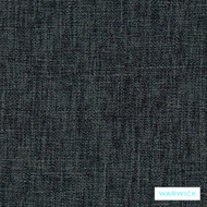 Warwick Matrix Steel  | Upholstery Fabric - Green, Plain, Black - Charcoal, Synthetic, Washable, Commercial Use, Halo