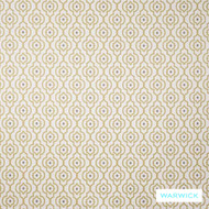 Gold' | Upholstery Fabric - Gold - Yellow, Contemporary, Mediterranean, Moroccan, Quatrefoil, Synthetic fibre, Traditional, Washable, Domestic Use, Halo