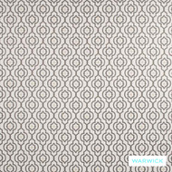 Slate' | Upholstery Fabric - Beige, Grey, Contemporary, Mediterranean, Moroccan, Quatrefoil, Synthetic fibre, Traditional, Transitional, Washable, Domestic Use, Halo