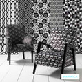 Warwick uncommonly smart Australian Made drapery fabrics from the Monochrome Gracia design style range