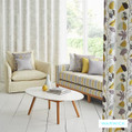 The in vogue Montana (Pnm) upholstery and drapery fabrics from Warwick