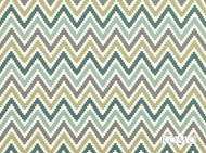 Romo - Scala Jade  | Curtain & Upholstery fabric - Green, Geometric, Natural fibre, Southwestern, Washable, Chevron, Zig Zag, Domestic Use, Natural, Print