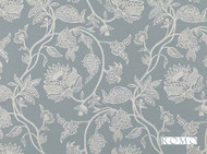 Romo - Madigan Gris  | Curtain & Upholstery fabric - Grey, Deco, Decorative, Fibre Blends, Floral, Garden, Traditional, Decorative Weave, Domestic Use, Standard Width