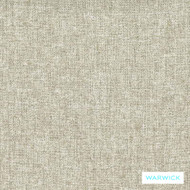 Warwick Oslo Almond    Upholstery Fabric - Beige, Plain, Synthetic fibre, Washable, Commercial Use, Halo, Natural