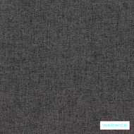 Warwick Oslo Charcoal    Upholstery Fabric - Grey, Plain, Synthetic fibre, Washable, Commercial Use, Halo