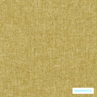 Warwick Oslo Grass  | Upholstery Fabric - Gold,  Yellow, Plain, Synthetic, Washable, Commercial Use, Halo, Standard Width
